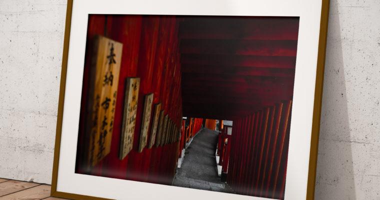 """Wydruk zdjęcia autorskiego Z Japonii """"W stronę światła"""""""