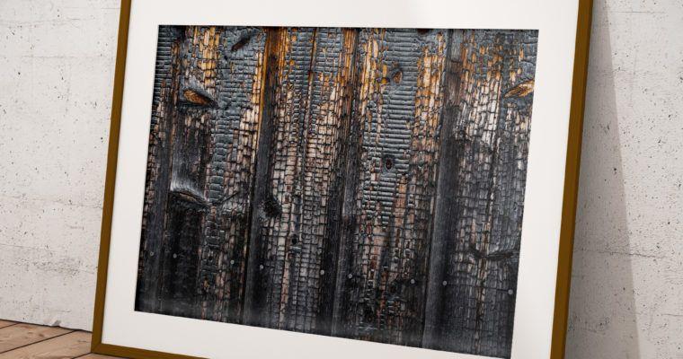 """Wydruk zdjęcia autorskiego Z Japonii """"Wood"""""""